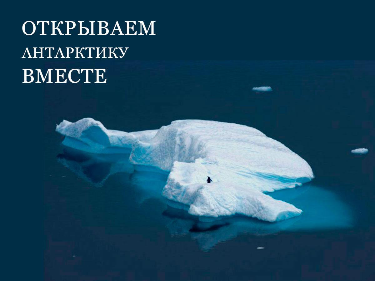 Стартовал новый всероссийский заповедный урок, посвященный Антарктике